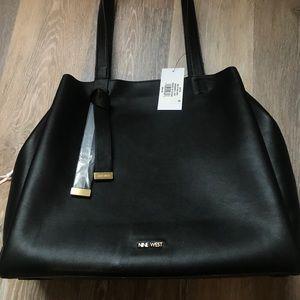 Black, Nine West purse!